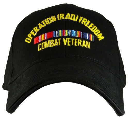 Operation Iraqi Freedom Combat Veteran Direct Embroidered ()