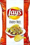 #2: NEW Lay's Crispy Taco Flavored Potato Chips 7.75 Oz (1)