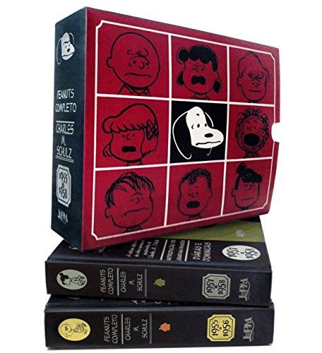 Peanuts Completo 1955 a 1958 - Caixa Especial. 2 Volumes