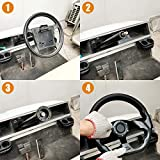MOSNAI Golf Cart Steering Wheel or Adapter Fit Golf Cart Club Car EZGO Yamaha Universal Steering Wheel or Adapter for Club Car DS and Precedent