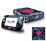 Nintendo Wii U Console and GamePad Decal skin Sticker - Wild at Heart