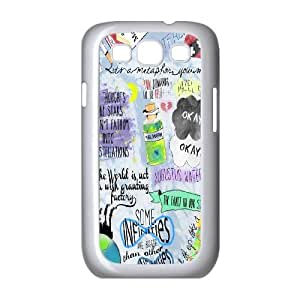 The fault in our stars-okay?okay case cover For Samsung Galaxy S3 LHSB9660104