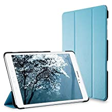 Galaxy Tab A 9.7 Case, JETech® Gold Slim-Fit Smart Case Cover for Samsung Galaxy Tab A 9.7 inch Tablet with Auto Sleep/Wake Feature (Blue)