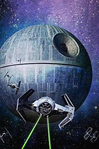 Star Wars Episode IV Spaceship Movie Fan Art Poster 24x36