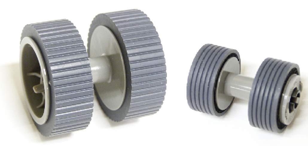 Fujitsu Scanner Brake and Pick Roller Set FI-6140 FI-6240 FI-6130 FI-6230 FI-6130Z PA03540-0001 PA03540-0002