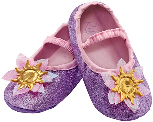 [Disguise Costumes Rapunzel Slippers, Toddler, Size 6] (Unique Toddler Girl Costumes)