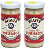 Beaver Horseradish Extra Hot 4oz (Pack of 2)