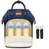 Diaper Bag Backpack for Baby Care, Multi-Functional Waterproof Travel Backpack Nappy Tote Bags