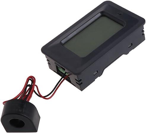 6 en 1 Digital AC Tension meter 100A//20A 110 ~ 250 V compteur d/'énergie ampèremètre panneau LCD