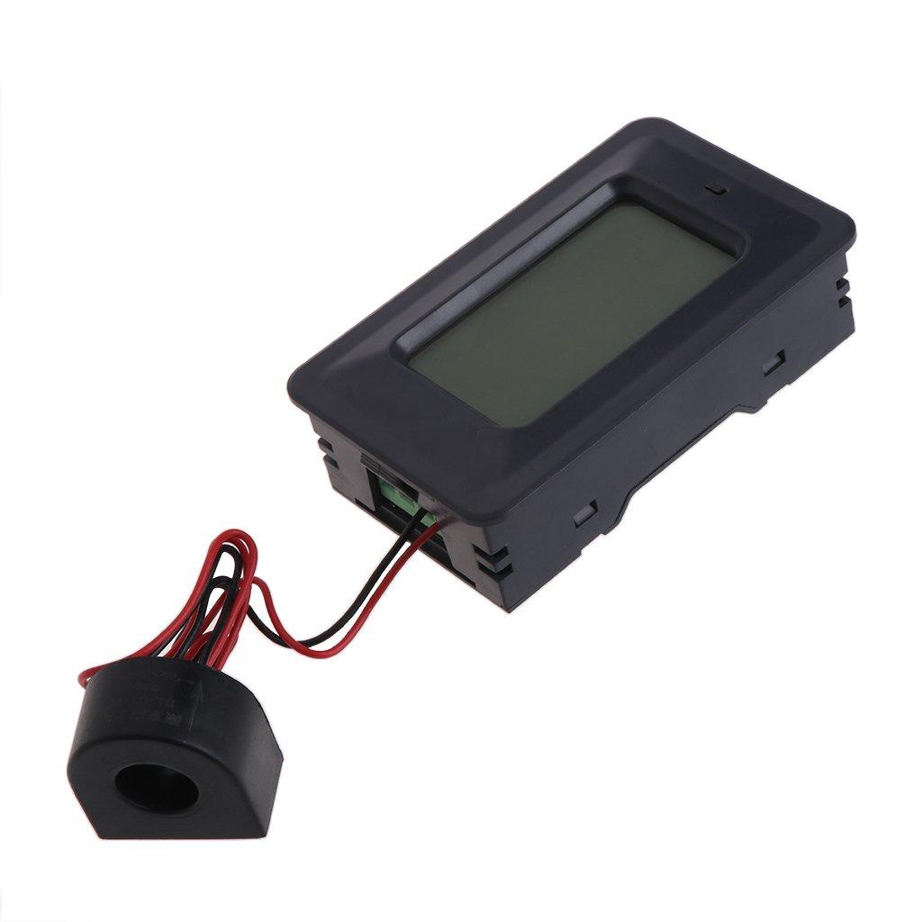20/100A AC LCD Digital Panel Power Watt Meter Monitor Voltage KWh Voltmeter Ammeter by LOLOVI