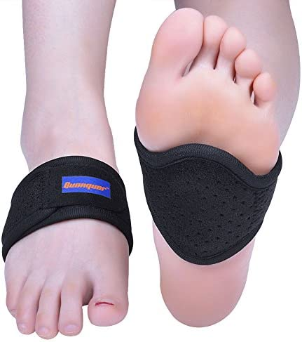 Arch Support Brace, 1 Pair Compression Fasciitis Cushioned Support Sleeves, Plantar Fasciitis Foot Relief Cushions for Plantar Fasciitis, Fallen Arches, Achy Feet Problems Fits Men and Women