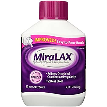 Amazon Com Miralax Laxative Powder 17 9 Oz Health