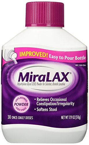 Miralax Laxative Powder 17 9 product image