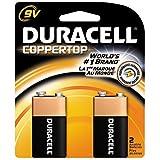 Duracell Coppertop Alkaline Batteries 9 Volt 2 Each (Pack of 18)