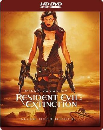 Resident Evil Extinction Hd Dvd Amazonde Milla