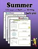 Summer Math and Writing:  Fourth grade