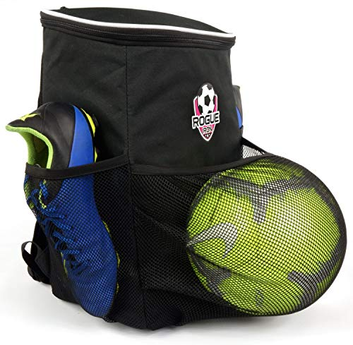 a73f8713f Rogue Iron Soccer Backpack (Pink Logo)