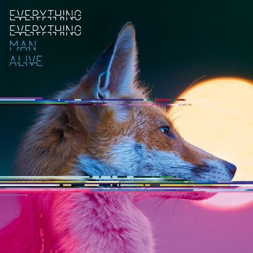 CD : Everything Everything - Man Alive (CD)