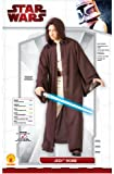 Star Wars Deluxe Hooded Jedi Robe, Brown, One Size