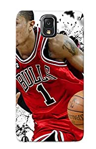 (FvdqAfb3386QvBzY)durable Protection Case Cover With Design For Galaxy Note 3(derrick Rose )