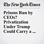 Prisons Run by CEOs? Privatization Under Trump Could Carry a Heavy Price | Eduardo Porter