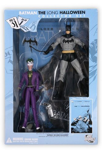 DC Direct Batman: The Long Halloween Collector Set Includes Batman and The Joker and Graphic Novel: BATMAN: THE LONG (Batman The Long Halloween Two Face)
