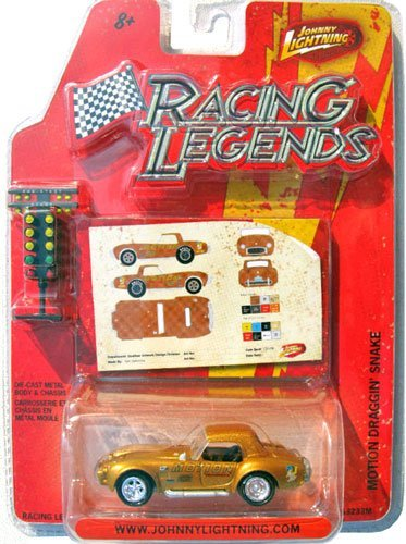 Johnny Lightning Racing Legends (Johnny Lightning Racing Legends R2 Motion Draggin' Snake)
