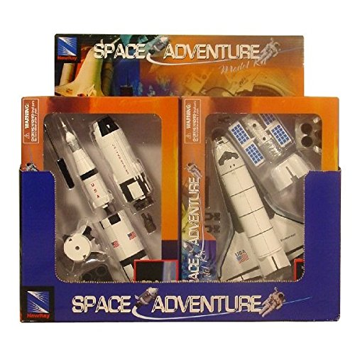 Nasa Space Adventure Child Plastic Toy Model Kit - Space Rocket by New Ray from New-Ray Toys Inc.
