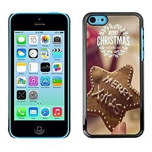 Dragon Case - FOR iPhone 5Cs - Merry Christams - Caja protectora de pl??stico duro de la cubierta Dise?¡Ào Slim Fit