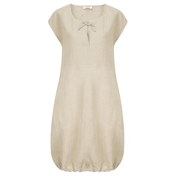 bf95d8ec958 Masai Clothing - Hadil Linen Tunic Dress