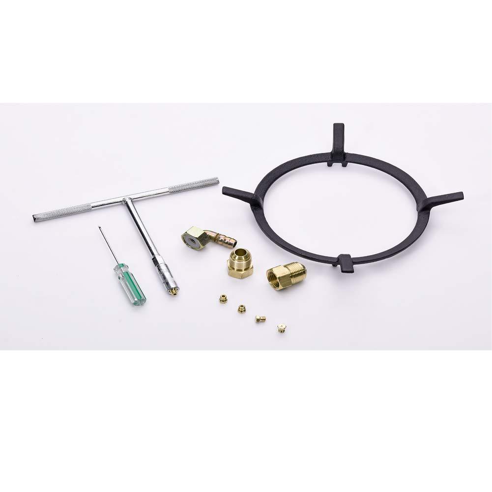 Amazon.com: Deli-kit DK258-A08 34 inch Gas Cooktop gas hob ...