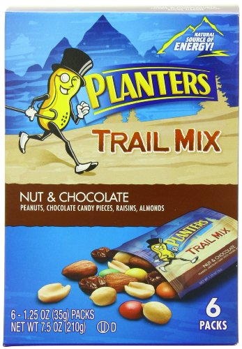 Planters Trail Nuts Chocolate Ounce product image