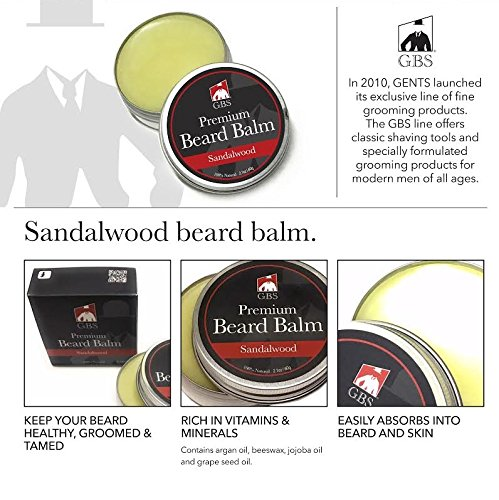 Pomade Web (Premium Beard Balm - All Natural Sandalwood)