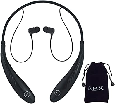 Amazon Com Sbxdio Hbl 9900 Wireless Music A2dp Stereo Bluetooth Headset Bluetooth 4 0 Wireless Noise Canceling Bluetooth Headset With Microphone Csr 4 0 Multi Point Connectivity Enhanced Audio Bass Response Smart Vibration Alert Flexible And
