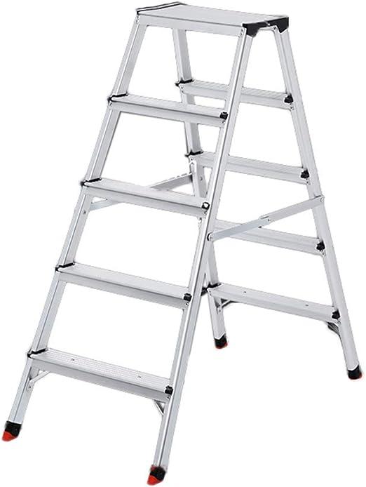 C-J-Xin Escalera Exterior, Escalera de Metal de Cinco escalones de ...