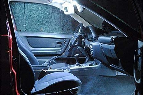 Led l illuminazione per interni auto set di lampade bianche