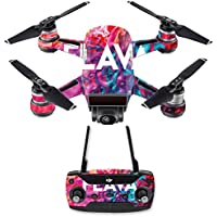 Skin for DJI Spark Mini Drone Combo - Flava| MightySkins Protective, Durable, and Unique Vinyl Decal wrap cover | Easy To Apply, Remove, and Change Styles | Made in the USA