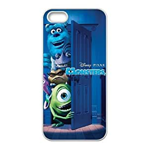 iphone5 5s White phone case Classic Style Disney Cartoon Monsters Inc OBN8940612