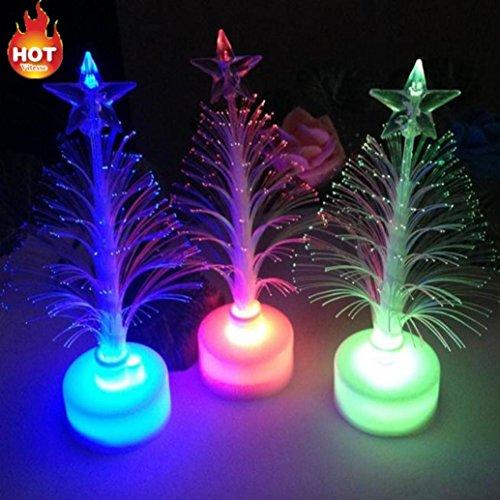 Clearance Sale! Caopixx Night Lights Christmas Xmas Tree Party Decorative Light LED Lamp (A) ()