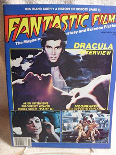 FANTASTIC FILMS HORROR MAGAZINE 1979 DRACULA ALIEN MOONRAKER JAMES BOND WEAVER [