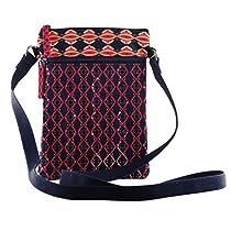 Crossbody slingbag purse tote shoulder travel bag smooth zi