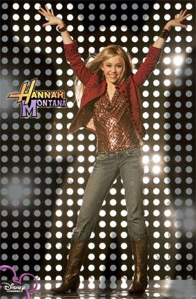 Hannah Montana Superstar Poster Disney Channel