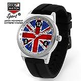 GT World Racing Sports Men's Wristwatch Women's Fashion British Campus Silicone Strap Quartz Watch
