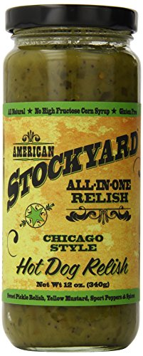 American Stockyard Chicago Style Hot Dog Relish, 12 Ounce