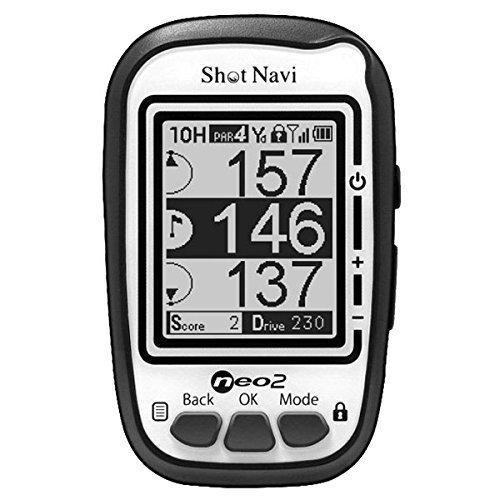 Shot Navi Neo 2 Golf GPS, White