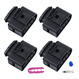 audi a4 coil connector - CITALL Set 4 Ignition Coil Connector Repair Kit IC39 Plug For Audi A4 A6 A8 VW Passat Jetta