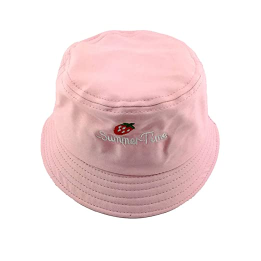 Kanggest.Gorro de Sol Verano en Forma de Fresa Sombrero de ...