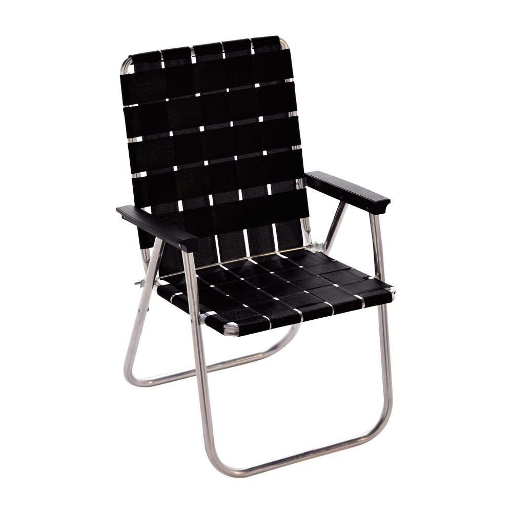 ローン チェア デラックス チェア [ ミッドナイト ] Lawn Chair DELUXE CHAIR B01JSUSV80