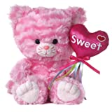 "Aurora Plush 8"" Milly The Pinkest Kitten Milly's Valentine"