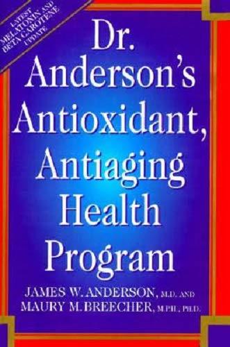 51f6OnvNBHL - Dr. Anderson's Anti-Oxidant Anti-Aging Health Program